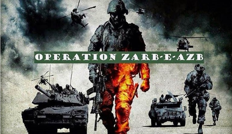 Operation Zarb e Azb by Pakistan Army