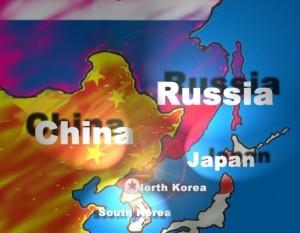 China Russia Japan