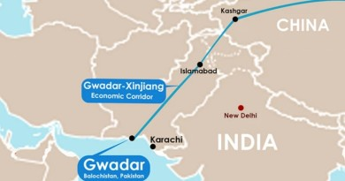 Gwadar sea port project; China Pakistan Economic Corridor (CPEC)