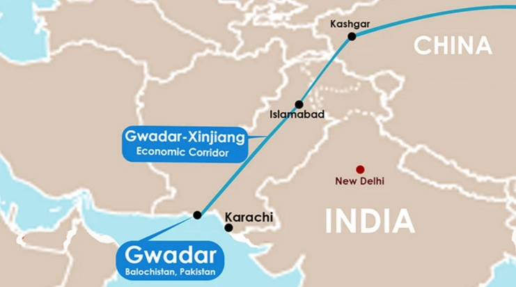 Gwadar sea port; CPEC China Pakistan