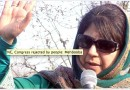 Mehbooba welcomes Indo-Pak talks