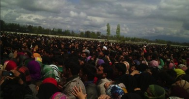 FUNERAL OF A KASHMIRI  MILITANT