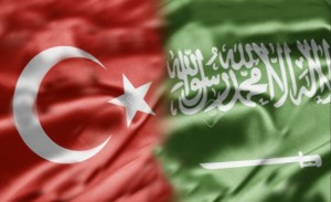 SAUDI TURKEY FLAG