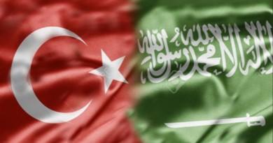 SAUDI TURKEY FLAG