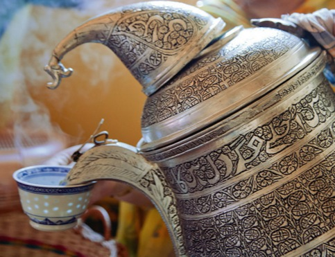 Kashmiri salt tea samovar