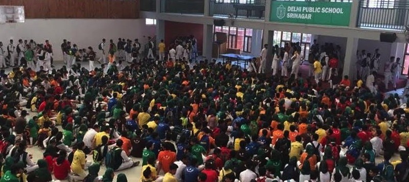 Delhi Public School protest