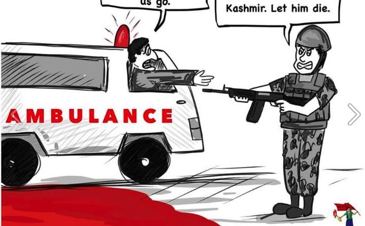Kashmir ambulance attack