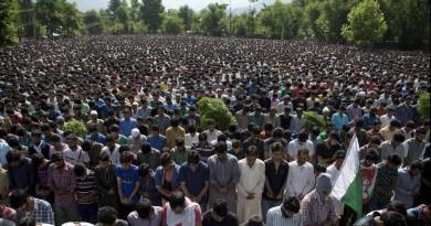 Burhan Wani funeral
