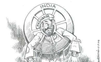 Kashmir cartoon Daily Times