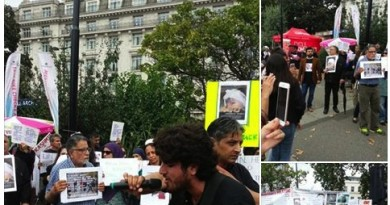 London protest by Indian occupied Kashmiris