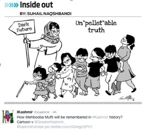 Mufti Mehbooba - Modi nexus: Save Kashmiri Children global campaign