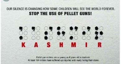Save Kashmiri Children from pellets guns