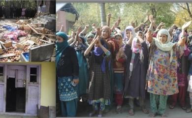 Indian Army human rights violations in Kashmir at Kupwara few days ago.
