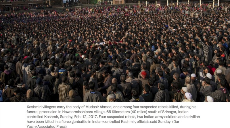 #Kashmir protests against India erupt after #KulgamEncounter