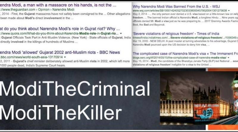Modi the criminal, Modi the killer