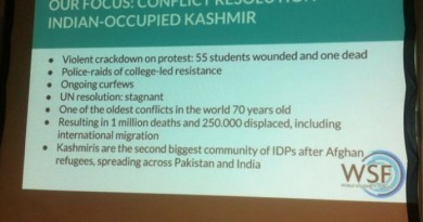 EU civil society Pressure Groups condemn Indian state terrorism in Kashmir