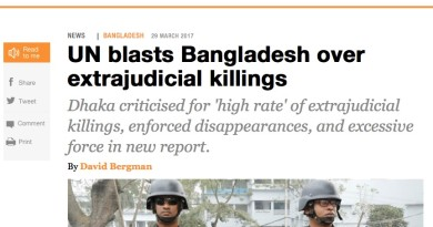Bangladesh extrajudicial killings