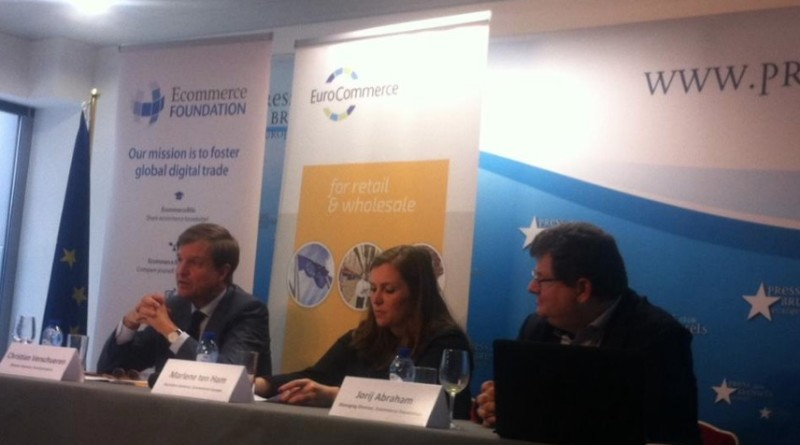 Commerce Foundation, Euro Commerce joint briefing at The Brussels Press Club Europe