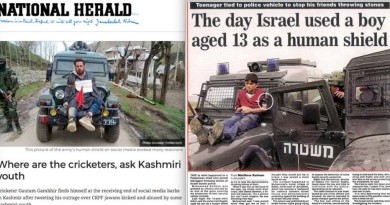 """Countries compete with each other in talent, #technology, #innovation but #India & #Israel compete in barbarism, cruelty & #StateTerrorism"" #humanrights #kashmir #palestine"