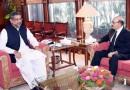 Masood Khan calls on newly appointed Pak PM