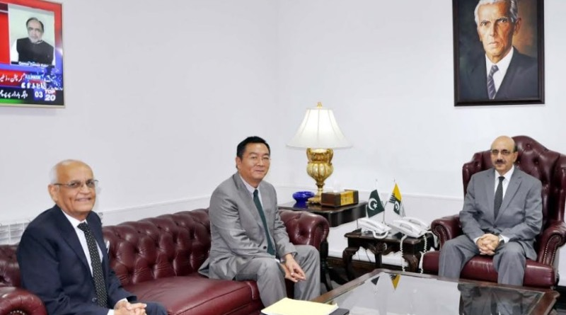 China Three Gorges Corporation (CTGC) CEO Qin Quobin visits Azad Kashmir
