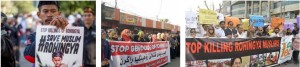 Protest against massacre, genocide and killings of Rohingya, Burma Muslims