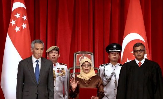Halimah binti Yacob is Singaporean politician who is the current President of Singapore