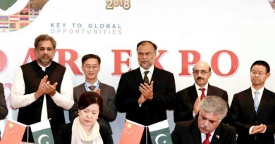 President AJK attends International Gwadar Expo 2018