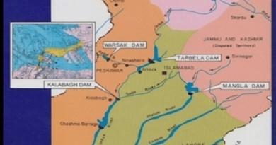 Kalabagh Dam map