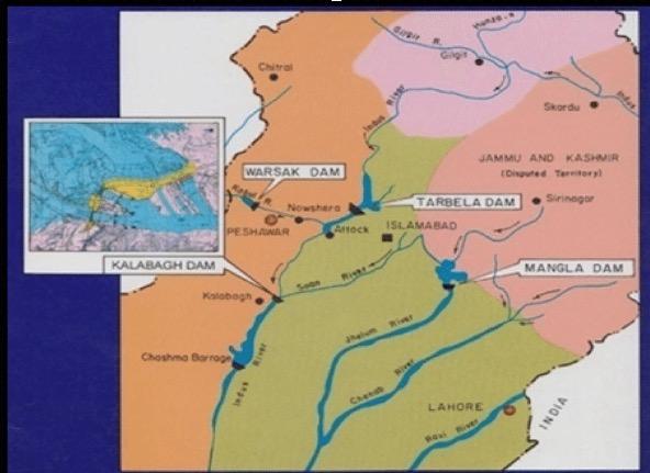 Construction of Pakistan Dam (Kalabagh) – Defeat of RAW and