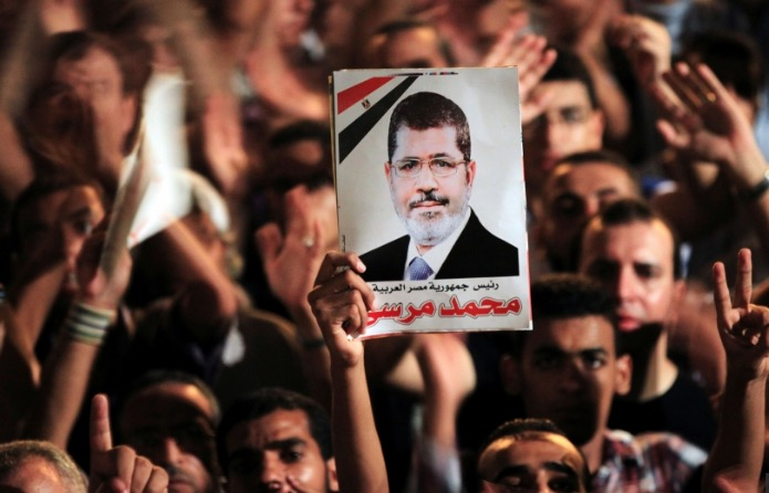 Prayers in absentia offered for Egyptian President Morsi in