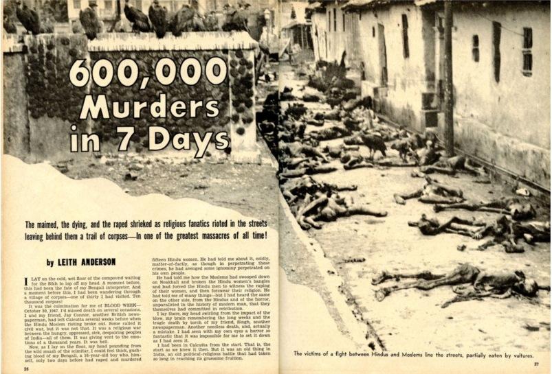 jammu massacre of 1947 that was shrouded in kashmir happenings of